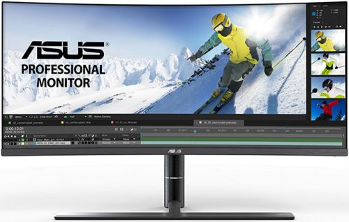 ASUS Demonstrates ProArt PA34V Professional Curved UWQHD Display with TB3