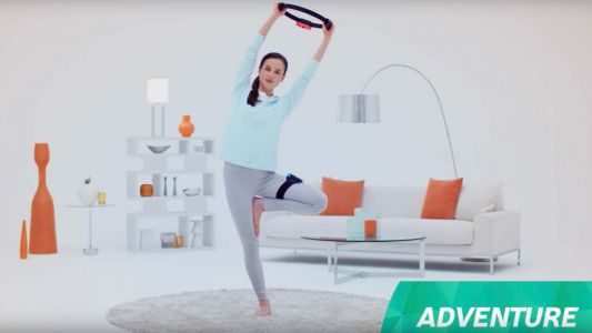 Ring Fit Adventure is Nintendo Switch's answer to Wii Fit