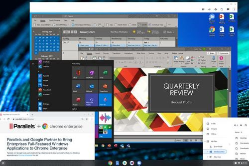 Parallels On Chromebook Lets You Run Windows 10