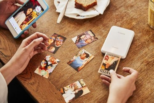Canon Zoemini is a portable photo printer you can fit in your pocket