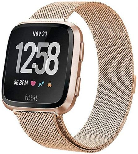 These bands will complement your Rose Gold Fitbit Versa