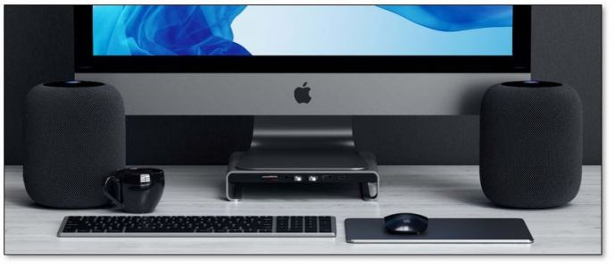 Satechi Launches New 'Type-C Aluminum Monitor Stand Hub' for iMac