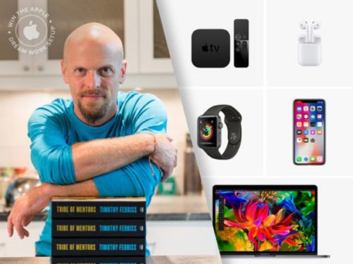 Reminder: Enter The Tim Ferriss Tribe of Mentors Dream Setup Giveaway