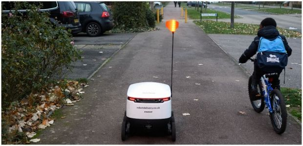 UK's Supermarket Giant Sends Robots To Carry Out Grocery Home Deliveries