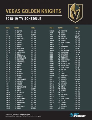 AT&T SportsNet and the Vegas Golden Knights Now Available on DISH in Las Vegas