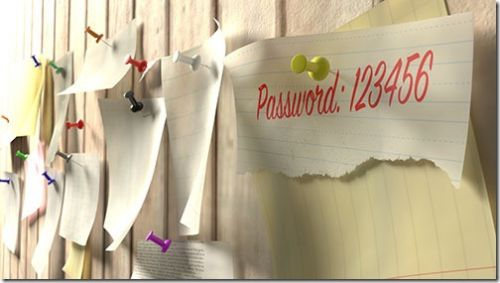You Never Have To Change Your Passwords Again!*