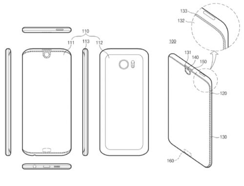 Samsung Patent Shows New Design Ideas For Future Smartphones