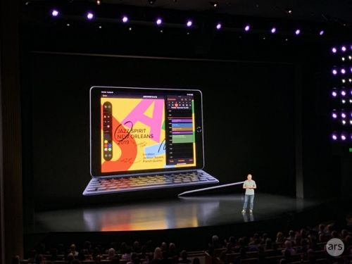 Surprise! Apple unveils its 7th-gen iPad with a 10.2-inch display