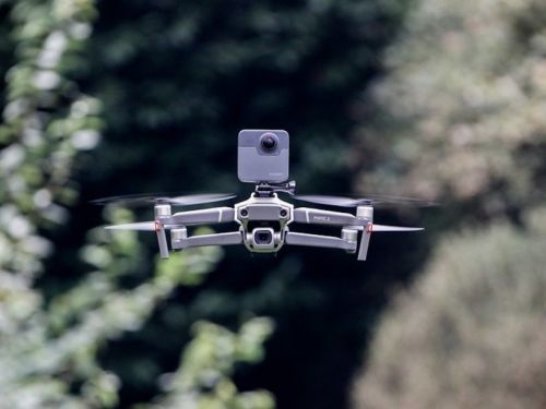These drones are compatible with the GoPro HERO8