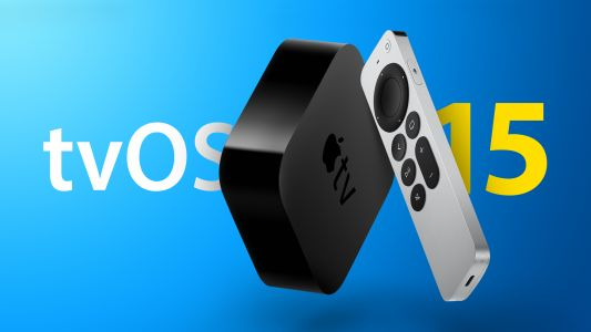 Apple Seeds First Beta of tvOS 15 to Developers
