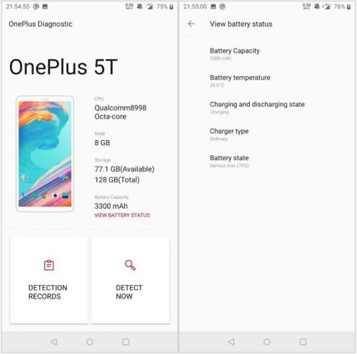 How to check battery health on your OnePlus smartphone