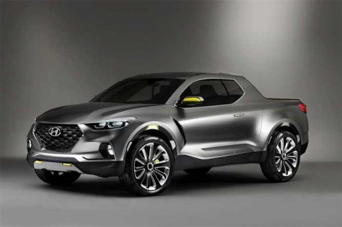 Hyundai Santa Cruz Truck Design has Been Changed from the Cool Concept