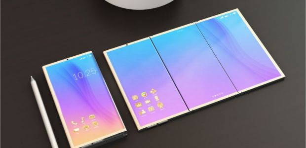 Samsung foldable phone with Infinity Flex Display shown off