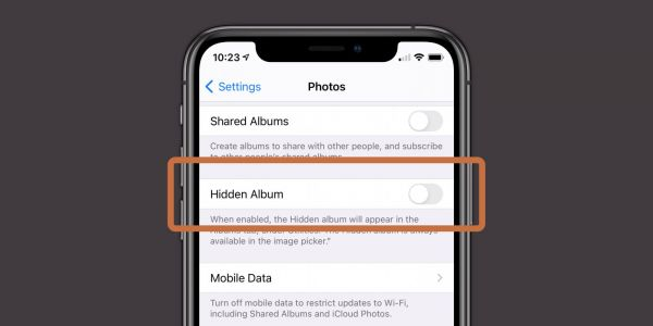 IOS 14: How to hide photos from the library in the Photos app
