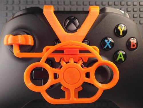 3D Printed Xbox One Steering Wheel Controller Is All Kinds Of Awesome