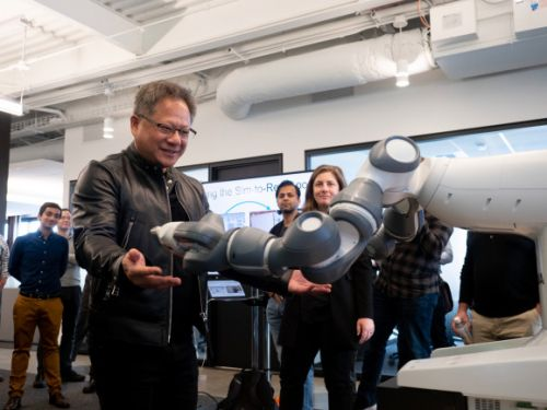 Nvidia opens robotics research lab in Seattle