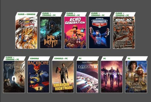New Xbox Game Pass October 2021 games