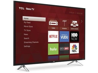 Find new shows to watch with all-time low pricing on the TCL 43-inch 1080p Roku TV