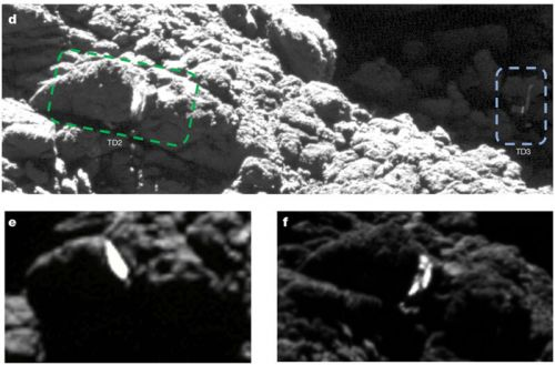 Doomed Philae lander accidentally did a science by denting the comet