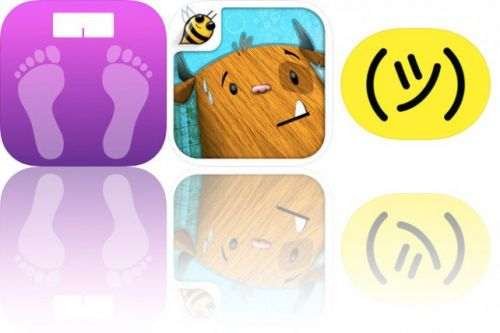 Today's Apps Gone Free: WeightTrackerHK, Even Monsters Get Sick and iShrug