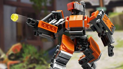 Overwatch gets the Lego treatment with all-brick Bastion