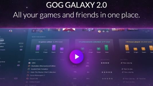 Collect all your gaming libraries in one spot with GOG Galaxy 2.0