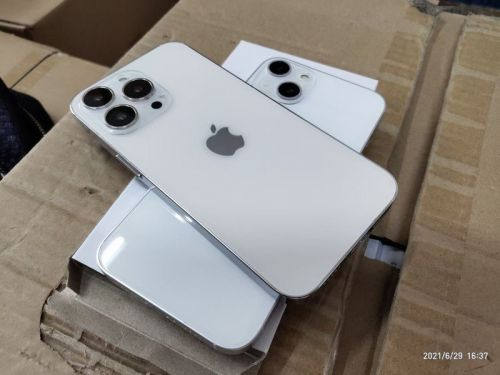More iPhone 13 dummy units appear online with new notch, cameras