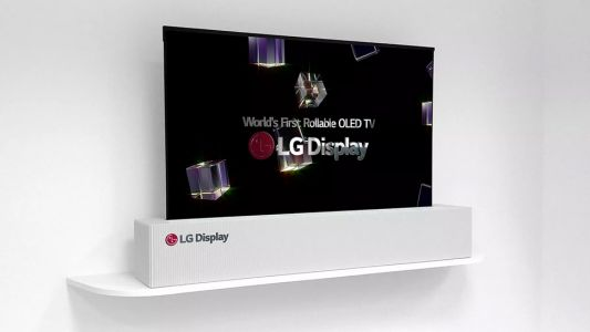 LG's next trick for CES is a 65-inch OLED TV that rolls up