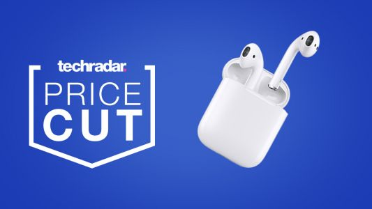 The Apple AirPods are on sale and back in stock at Amazon