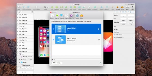 Latest update to Sketch design tool integrates official Apple iOS 11 UI templates