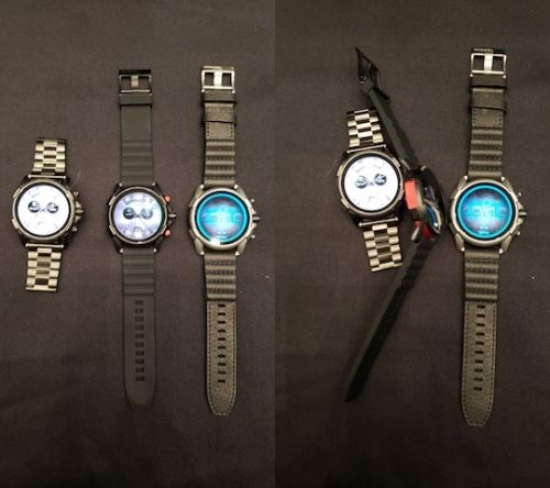 Diesel Sticks To Large Displays With New Full Guard 2.5 Smartwatch