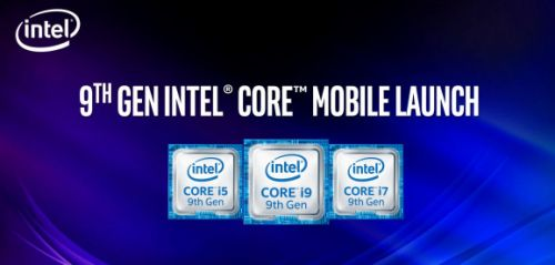 Intel launches 9th Gen Core mobile processors