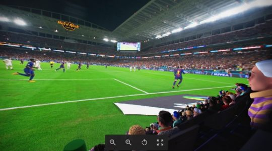 Facebook launches Oculus Venues social spectating app in VR