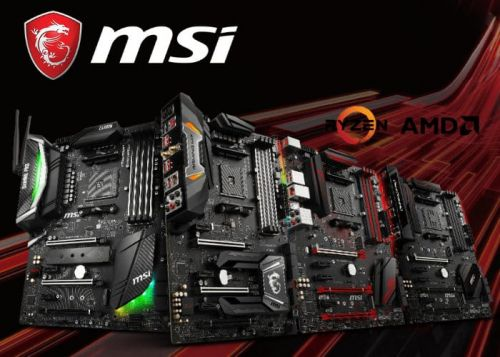 New MSI AMD X470 Motherboard Range Introduced