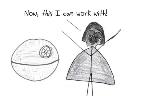 The math of why it's so hard to build a spherical Death Star in space