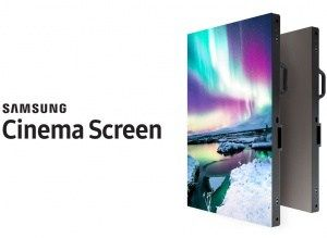 Samsung Cinema LED installed in Swiss pictures