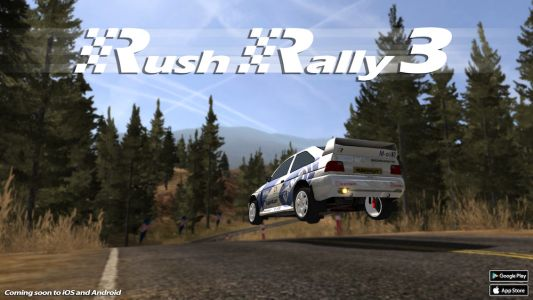 'Rush Rally 3' in the Works and Sign-Ups are Open for Beta that Begins Later this Month