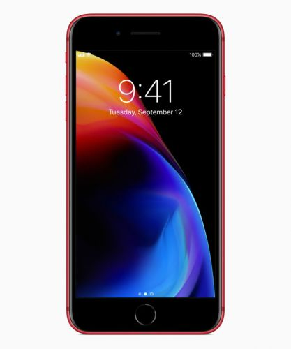 Apple Unveils iPhone 8 / 8 Plus RED Special Edition