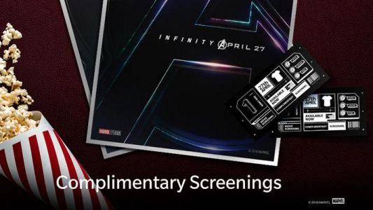 OnePlus giving away 6,000 tickets for Avengers: Infinity War in 10 cities across India