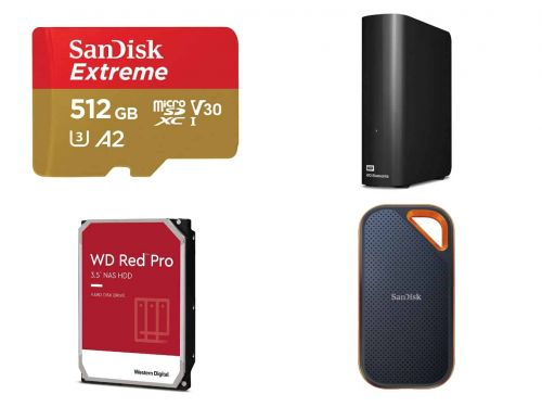 SanDisk & WD Storage Products Discounted Up To 60% - Black Friday Deals 2020