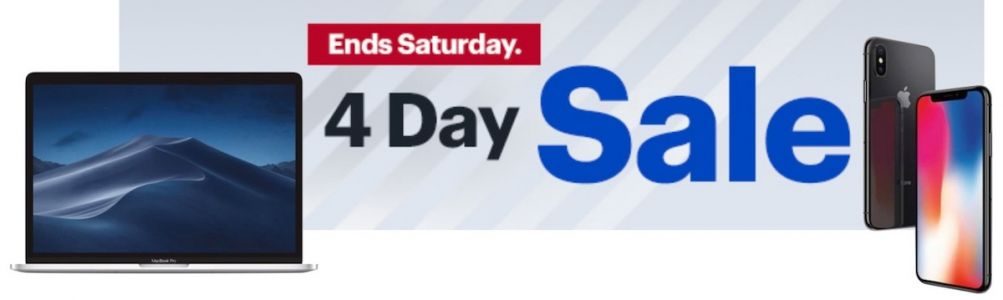 Best Buy's New 4-Day Sale: Save on MacBook Pro With Touch Bar , iPhone X, and More