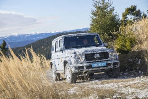 More Details Revealed About The New Mercedes G Class