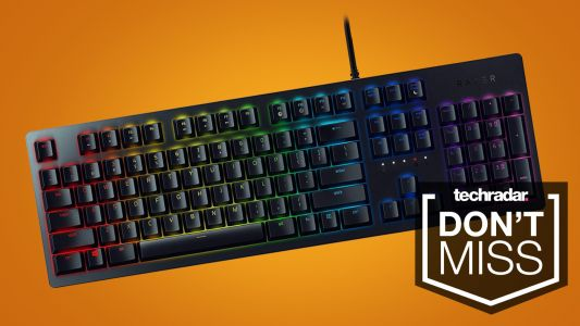 Hurry, there's 40% off the laser-powered Razer Huntsman keyboard while stocks last