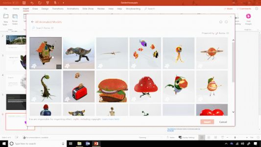 Windows 10 Tip: 3D embedded animations