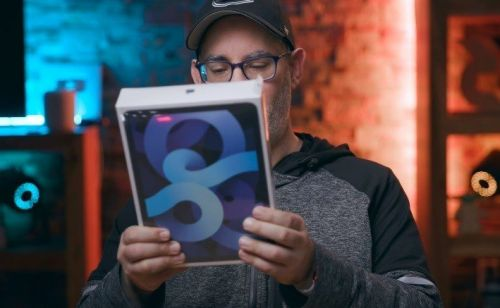 IPad Air 4 (2020) revealed in new creator videos