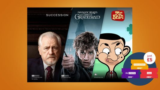 Now TV pass £5 deal is fantastic to try out the best TV, movie and kids content