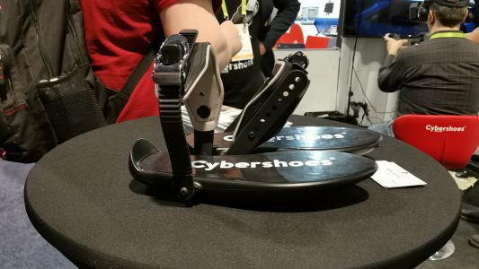 Cybershoes are a visceral way to move in VR at CES 2019