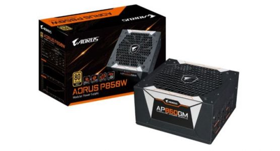 GIGABYTE Releases Aorus Branded Power Supplies: 80 Plus Gold, 750W/850W
