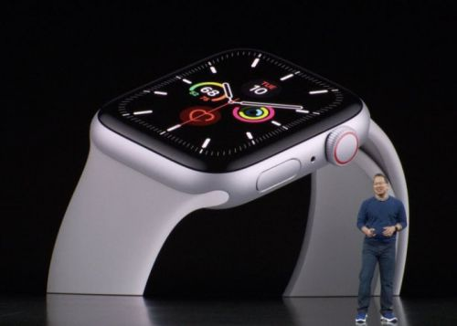 Apple Watch Series 5 features always on watch face