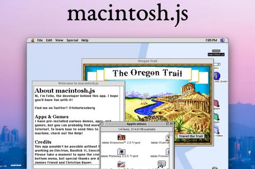 Mac OS 8 Emulator Available as a Downloadable App